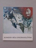 Kondor Béla - katalógus