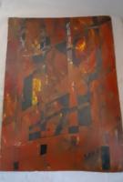 Festmény, Wahorn A. szignóval