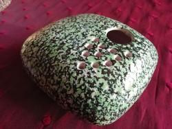 Iparművész kerámia ikebana, váza.