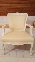 Valódi bőrrel felújított fotel