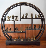 Miniatűr keleti szobrok, Buddha, Siva, Ganesha, stb!