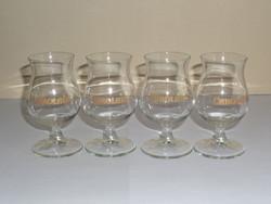 CAROLANS talpas üveg pohár ( 4 db.)