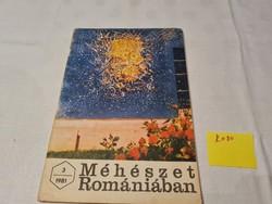 Méhészet Romániában folyóirat 1981 március