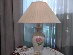 Herendi virág mintás lámpa