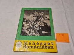 Méhészet Romániában folyóirat 1982 február