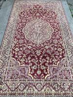 ANTIK VINTAGE Mokett bársony selyem szőnyeg ,terítő