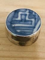 Ezüst  925 ös pirulás doboz