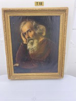 Gyönyörű Antik Festmény eladó 90x76 cm!