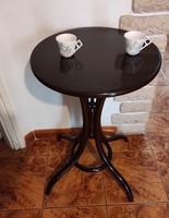 Thonet,tonett ,kàvézó,szalon asztal, posztamens szobortartó dohányzás antik bútor fotelok székekhez