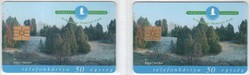 Magyar telefonkártya 0768    1998  Kiskunsági nemzeti park    GEM 1, GEM 3    66..000-134.000  darab