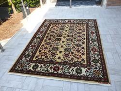 Eredeti kaukázusi azeri 183x240 kézi csomózású gyapjú perzsa szőnyeg MM_802