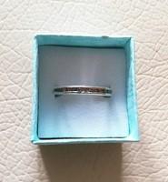 Ezüst köves gyűrű