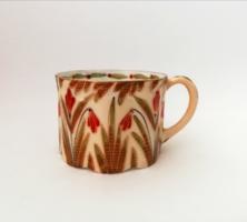 Nagyon ritka! Antik Pfeiffer & Löwenstein Versailles porcelán teás csésze