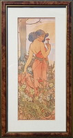 Alphonse Mucha - Carnation 1898
