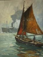 Leonhard Sandrock (1867-1945) : Tengeren