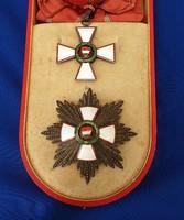 Magyar Köztársasági Érdemrend  Nagykeresztje Tildy kor 1946