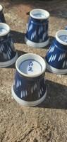 Porcelán szaké poharak