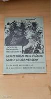 Műsorfüzet: NEMZETKÖZI MEGHÍVÁSOS MOTO-CROSS VERSENY 1983. Sopron