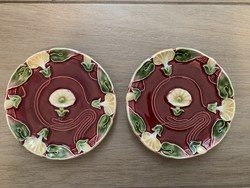 Antik Majolika szecessziós tányérok