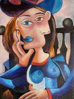 Picasso után olaj