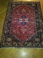 Perzsa szőnyeg Kaskáj gyapjú, kézi csomózás 154x112 cm