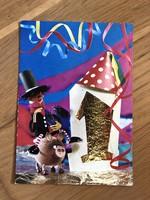 Boldog Új Évet képeslap - 1975 -ös