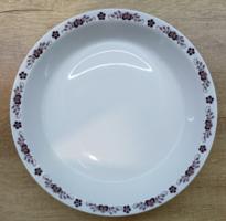 Alföldi porcelán barna magyaros főzelékes tányér