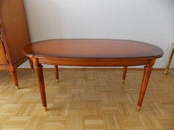 Warrings Salzburg cseresznyefa  dohányzóasztal 120x76x56cm