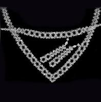 Esküvői, menyasszonyi, alkalmi ékszer szett, swarovszki kristály SSZE-SW04-1 5328