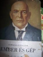 Oswald Spengler Ember és gép Egy új életfilozófia vázlata