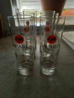 Retro Bacardi long drink pohárkészlet