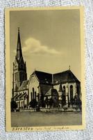 Régi képeslap Bátaszék templom