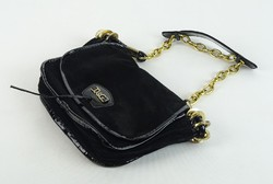 0W272 Dolce Gabbana fekete bőr női kézitáska