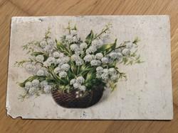 Újévi üdvözlet  - 1948 -as képeslap