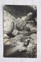 Régi képeslap Pilisszentkereszt Szurdok völgy
