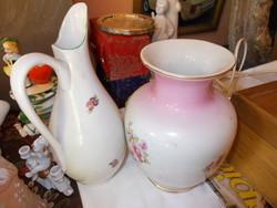 2 db Hollóházi váza