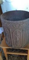 Antik öntöttvas kályha darab  csak antikkályhamúzeum részére