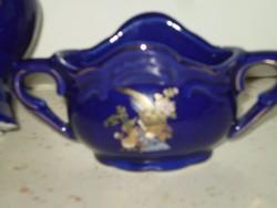 2 db porcelán virágos váza 12x8 cm. és 15x8 cm. egyben hibátlanok 1200 Ft