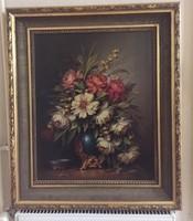 P. Molnár József - Virág csendélet