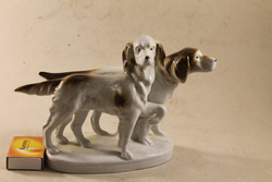 Német porcelán vadász kutyapár  920