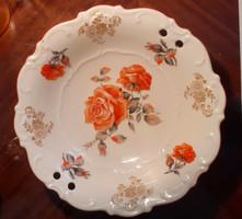 Csodaszép Schumann porcelán tál. 20 x 5 cm