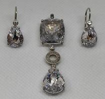 Thomas Sabo ezüst medál és fülbevaló szett 15,3 gramm 925