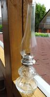 Régi jelzett osztrák petróleum lámpa