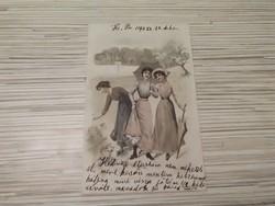 Antik Üdvözlő képeslap. (1904)