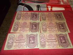 6-drb száz pengő 1930-ból