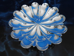 Ezüst  art deco  Kínáló 440 g