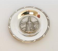 Sevilla, Aranytorony, spanyol ezüst tálka.