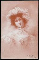 Hölgy lap 1900-ból