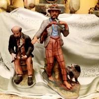 Kő porcelán Életkèp szobrok