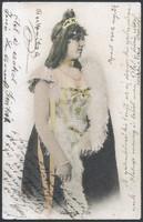 Hölgy lap 1902-ből, Varsányi Irén színésznő
